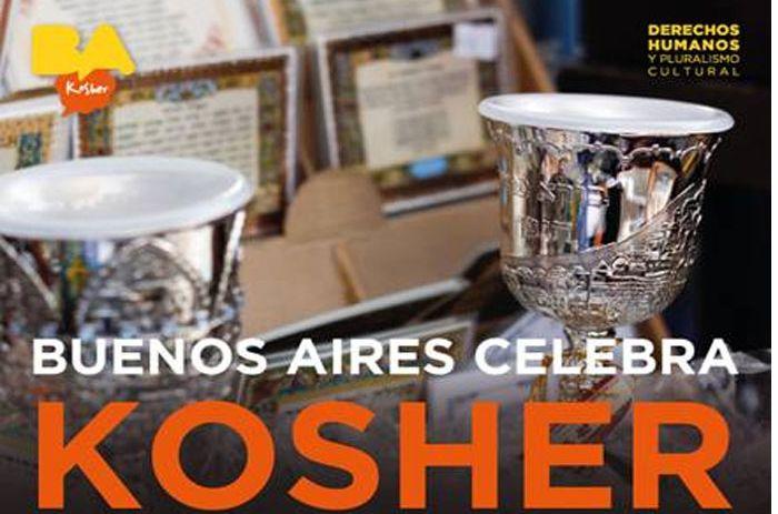 B A Kosher 5000personas Disfrutaron De La Gastronomia