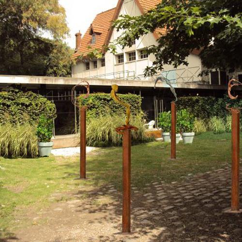 Visitas guiadas y actividades en museos biblioteca david - Esculturas para jardines ...